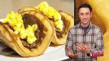 Taco Bell Waffle Tacos?! - Food Feeder