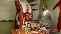Bacon Lip Balm, Bacon Lube, Bacon Coffins and... the Bacon SUIT!