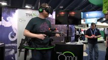 Hands-On: Virtuix Omni Treadmill with Oculus Rift
