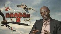 Dragons 2 - Interview Djimon Hounsou VO