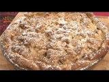Recette de Tarte crumble aux pommes - 750 Grammes