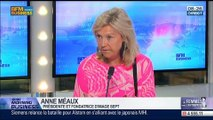 """""""Les femmes peuvent apporter beaucoup de choses en plus dans l'entreprise"""", Anne Méaux, dans GMB – 12/06"""