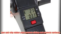 """Best buy Conquer Folding Exercise Bike Resistance Cycling Pedaler Electronic Display,"""""""