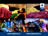 Sanaya Irani & Ashish Sharma 10th June 2014 SBS - Rudra-Paro in romantic and playful mood in 'Rangrasiya'