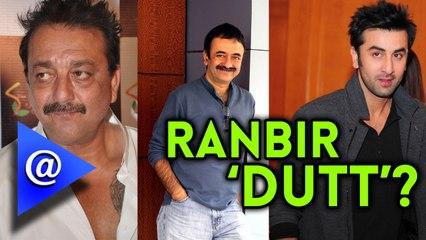 Ranbir Kapoor to play Sanjay Dutt in a Biopic by Rajkumar Hirani.