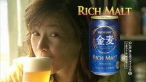 00422 suntory rich malt rei dan beverages - Komasharu - Japanese Commercial