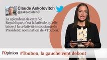 #tweetclash : #Toubon, la gauche vent debout
