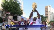 Mondial: des supporteurs brésiliens s'échauffent