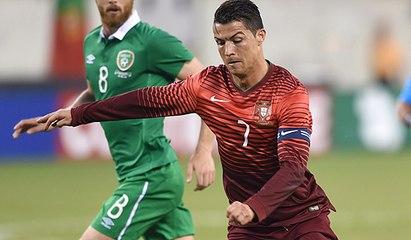 Sósia de Cristiano Ronaldo faz a festa da torcida em treino