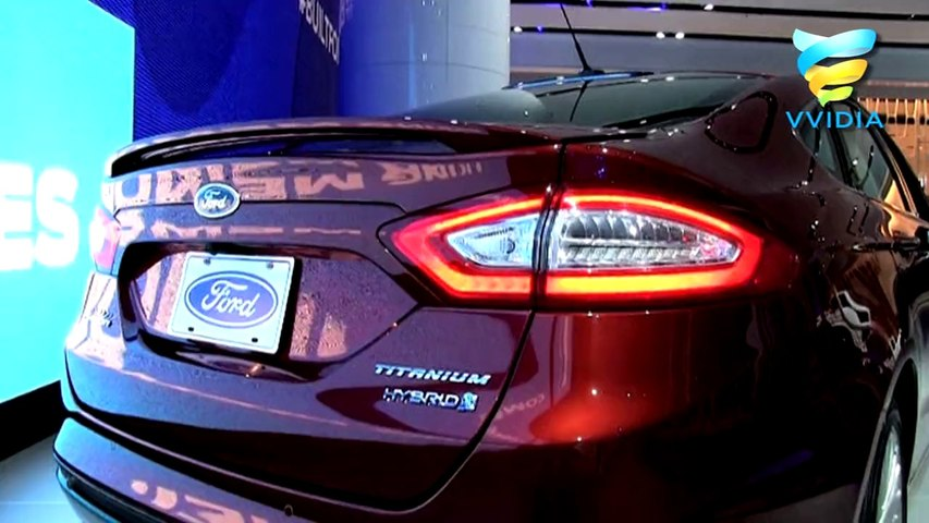 Rust Ford Fusion Titanium