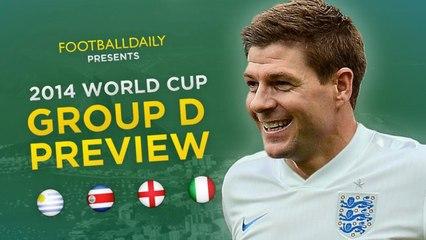 2014 Dünya Kupası D Grubu Genel Bakış ve Tahminler
