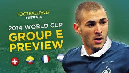 2014 Dünya Kupası E Grubu Genel Bakış ve Tahminler
