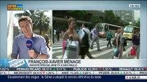 Focus sur la situation économique et politique au Brésil: Benaouda Abdeddaïm et François-Xavier Ménage, dans Intégrale Bourse – 12/06