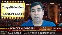 LA Dodgers vs. Arizona Diamondbacks Pick Prediction MLB Odds Preview 6-13-2014