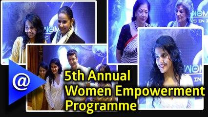 5th Annual Women Empowerment Programme in Taj Lands End.