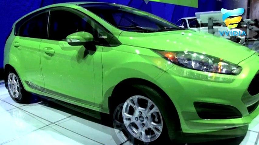 Light Green Ford Festa