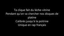 Booba - Avant de partir (Paroles / Lyrics)