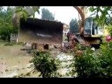 Geyve Sel Felaketi-İş Makinalarını Kurtarma-Geyvemedya.com-