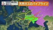 14 06 16 AK NW9 ロシア ウクライナ 天然ガス 輸出停止 ロシア ガスプロム パイプライン イタリア フランス