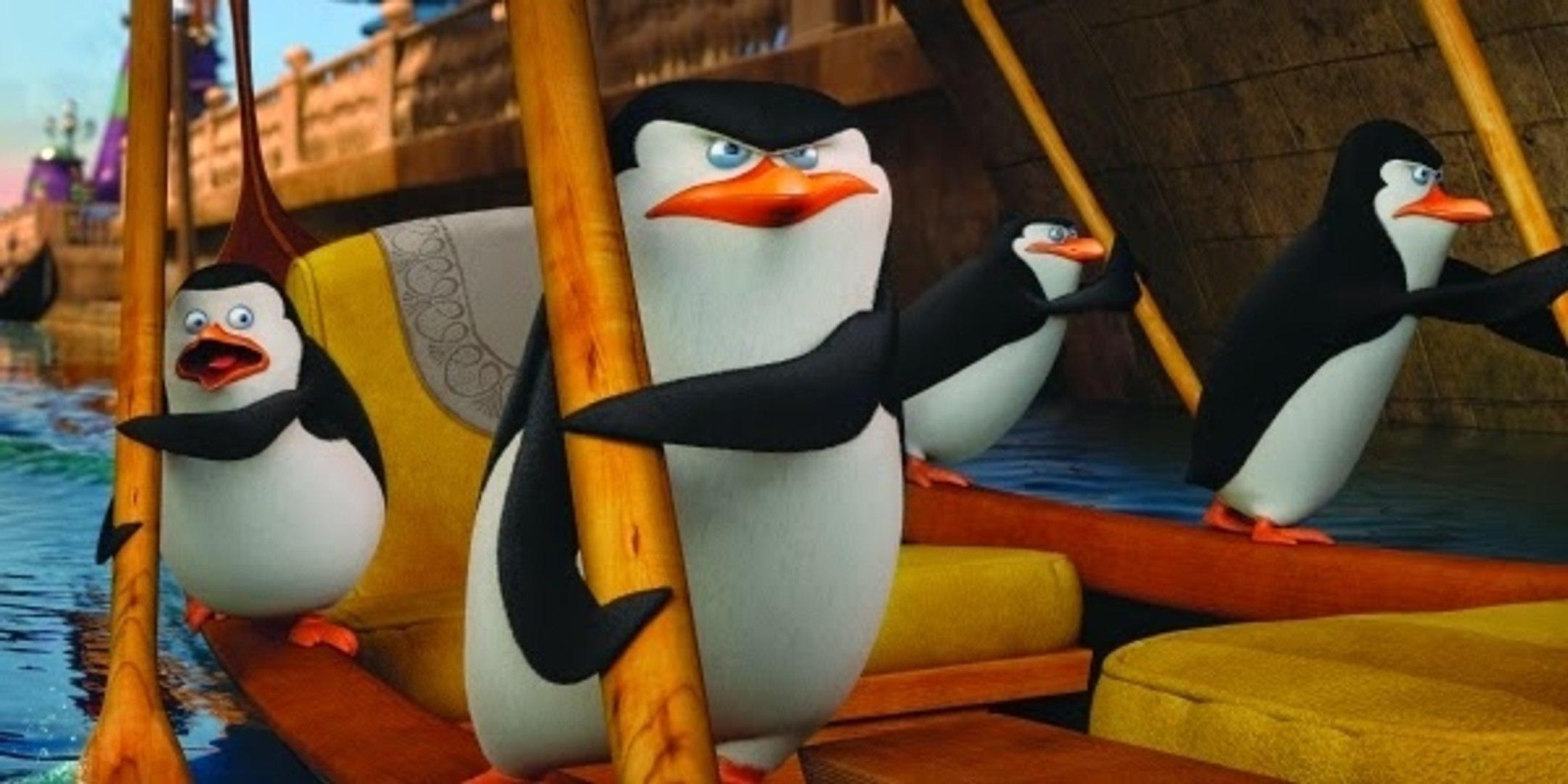 Los Pinguinos De Madagascar Pelicula Trailer Oficial Hd Video Dailymotion