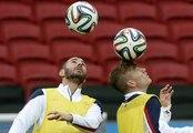 Ultime entraînement avant France-Honduras à Porto Alegre