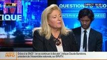 BFM Politique :  L'interview BFM Business, Claude Bartolone répond aux questions d'Hedwige Chevrillon - 15/06 2/5