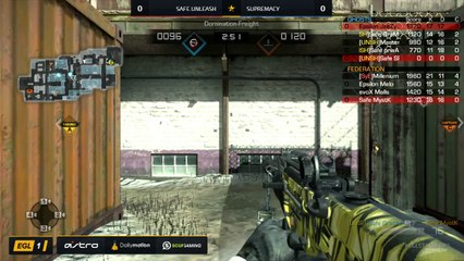 EGL SS : Supremacy vs Safe.Unleash : Round 1 - Map 1
