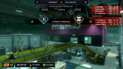 EGL SS : Supremacy vs Safe.Unleash : Round 1 - Map 2