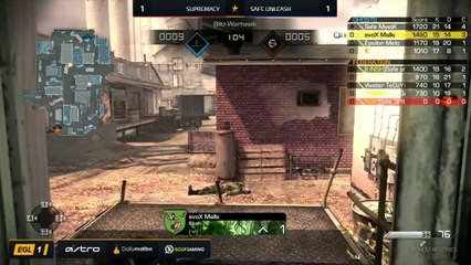 EGL SS : Supremacy vs Safe.Unleash : Round 1 - Map 3