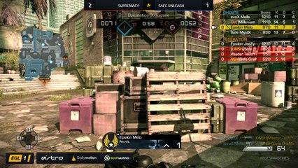 EGL SS : Supremacy vs Safe.Unleash : Round 1 - Map 4