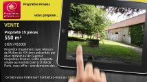 A vendre - propriété - GIEN (45500) - 19 pièces - 550m²