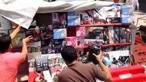 شاهد   مدير أمن الإسكندرية يقود حملة لإزالة الإشغالات بالعطارين