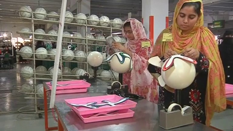 Pakistan factory's world cup win
