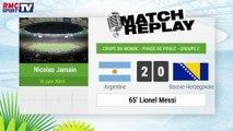 Argentine - Bosnie : Le Match Replay avec le son RMC Sport !