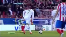 Cristiano Ronaldo amazing goal agains Atletico Madrid 2012 second goal