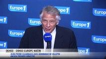 """De Villepin : """"Pas beaucoup de gagnants dans cette affaire"""""""