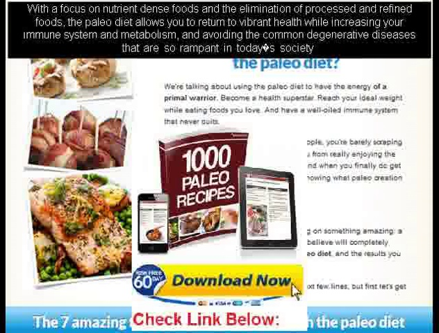 a the paleo diet meal plans