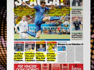 CALCIOINFO - Rassegna stampa 16-06-2014