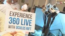 Immersion totale en vidéo avec Oculus Rift & Videostitch