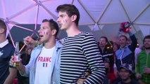Mondial: à Paris, la joie des supporteurs français