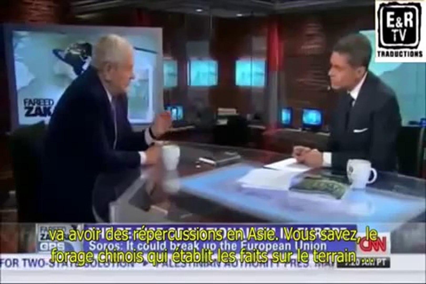George Soros revendique avoir joué un rôle dans la crise ukrainienne
