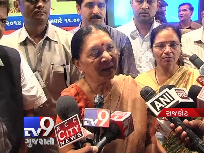 Computerized Lucky Draw conducted by CM Anandiben Patel for Mukhyamantri Gruh Yojana - Tv9 Gujarati