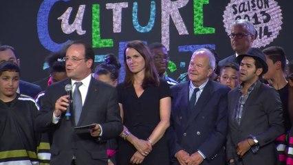 Trophées de l'impro : François Hollande et Jamel Debouzze au rendez-vous