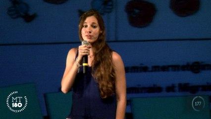 Noémie Mermet, lauréate du concours international Ma thèse en 180 secondes