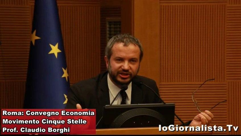 Convegno 5 Stelle Claudio Borghi: fuori dall'Euro