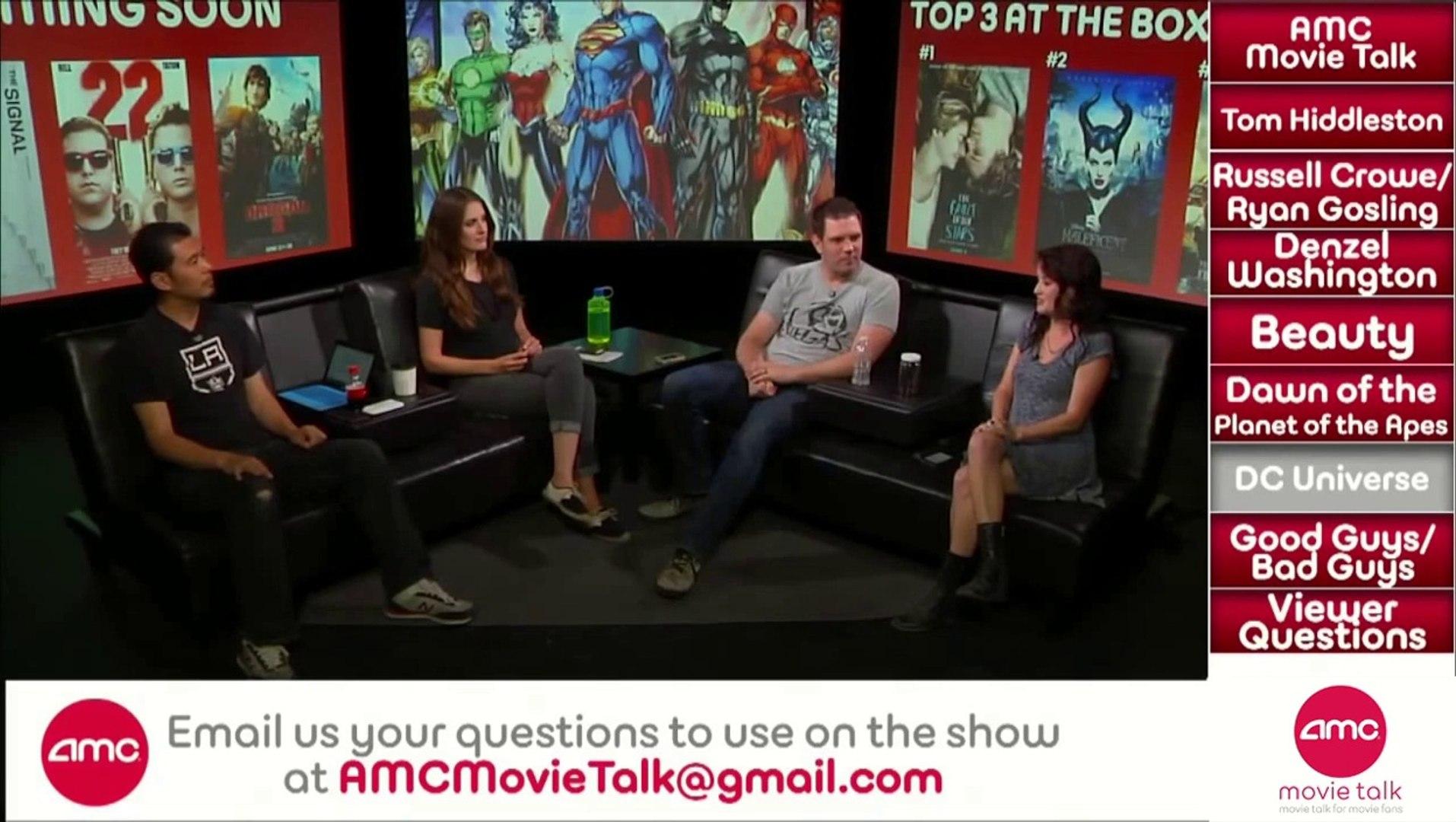 AMC Movie Talk - Justice League/DC Film Roster Revealed?Tom Hiddleston as Hank Williams,