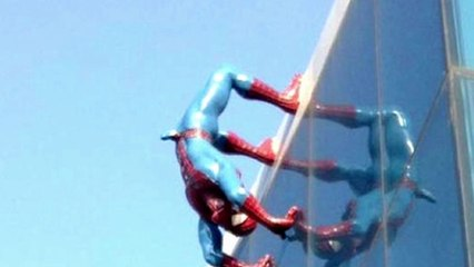 Spider-Man Statue With Huge Erection Has To Come Down