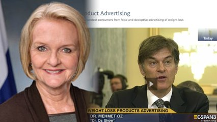 "Dr. Oz Faces Senator McCaskill To Answer For His ""Miracle"" Diet"