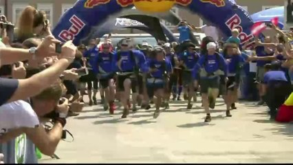 Multisport // Red Bull X-Alps // Controversy at start (EDGEsport) 2013