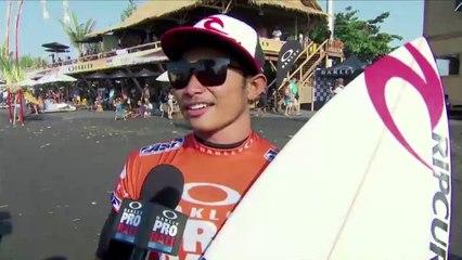 Surfing // Oakley Pro Bali 2013 - Putra Hermawan (EDGEsport)